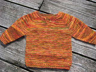 notch-necked raglan pullover