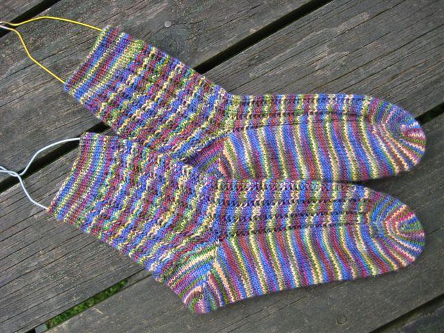 Roza's Socks in Socks that Rock light, Pirate's Booty