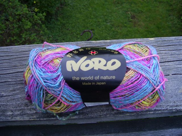 sweet little sock yarn, I already have your design half-written...