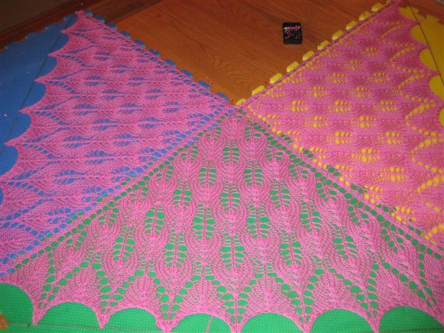 darling Alyssa's darling shawl