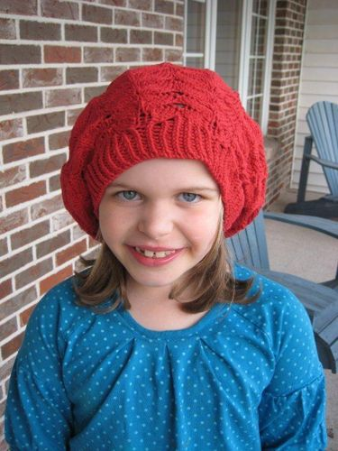 Rose Window Beret from Interweave Knits Spring 2010