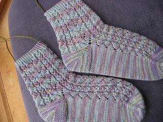 Originals in Socks that Rock, Mermaid colourway.
